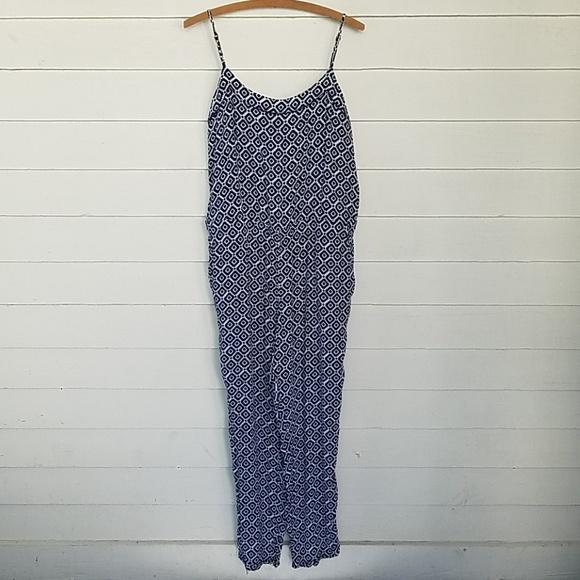 a1983af8fa6 LOFT Pants - LOFT IKAT Shibori Print Jumpsuit